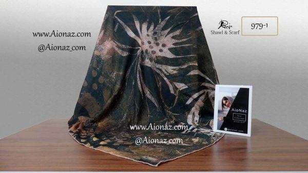 روسری نخی پاییزه روژه کد 979-1 نمای کلی