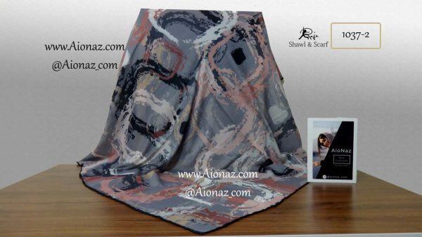 روسری نخی پاییزه روژه کد 1037-2 نمای کلی