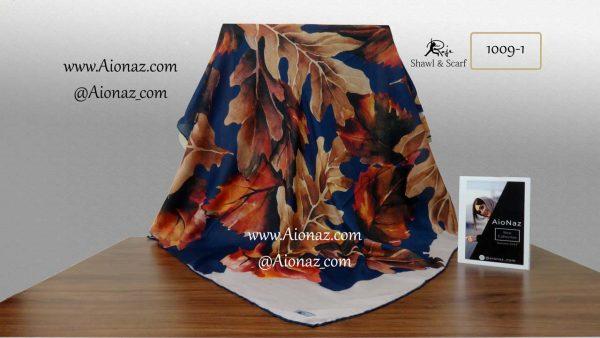 روسری نخی پاییزه روژه کد 1009-1 نمای کلی