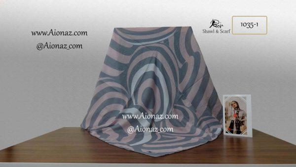 روسری نخی پاییزه روژه کد 1035-1 نمای کلی