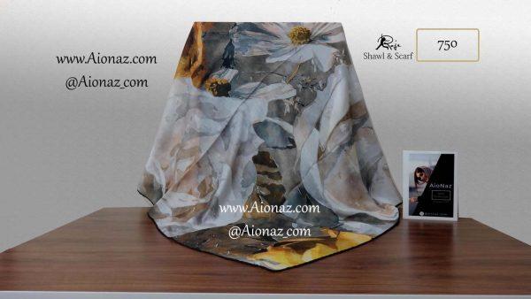 روسری نخی پاییزه روژه کد 750 نمای کلی