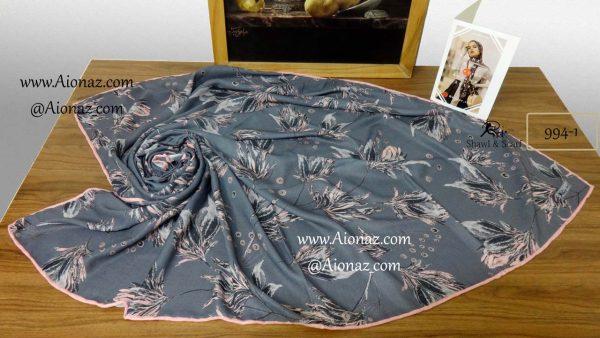 روسری نخی پاییزه روژه کد 994-1 نمای بالا