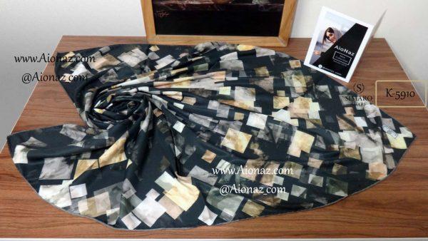 روسری نخی پاییزه سیمارو کد k-5910 نمای بالا