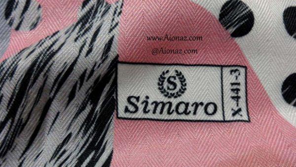 روسری نخی پاییزه سیمارو کد x-441-3 نمای نزدیک