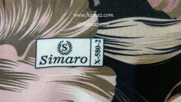 روسری نخی پاییزه سیمارو کد x-580-2 نمای نزدیک
