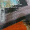 شال نخی پاییزه کجراه روژه کد 1049-s1 نمای نزدیک