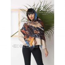 روسری نخی پاییزه روژه کد 1009-1