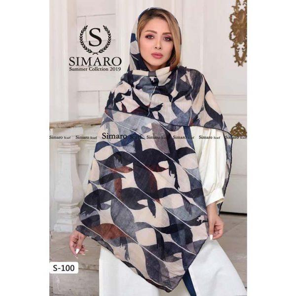 روسری نخی پاییزه سیمارو کد s-100