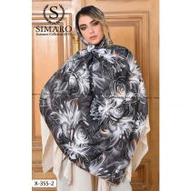 روسری حریر مجلسی سیمارو کد x-355-2
