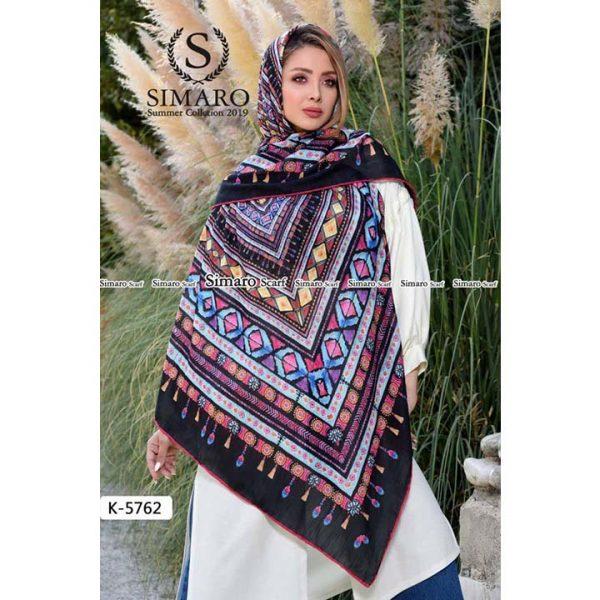 روسری نخی پاییزه سیمارو کد k-5762