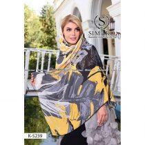 روسری حریر مجلسی سیمارو کد k5239