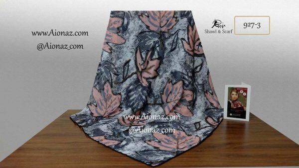 روسری نخی پاییزه روژه کد 927-3 نمای کلی