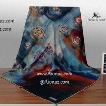 روسری نخی پاییزه روژه کد 1064-1