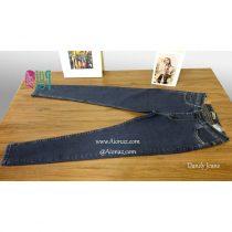 شلوار جین زنانه رنگ آبی تیره