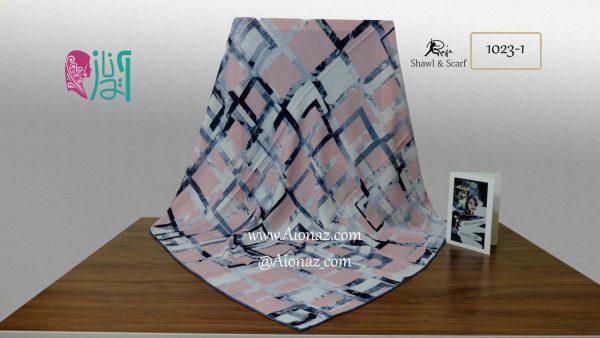 روسری نخی پاییزه روژه کد 1023-1 نمای کلی