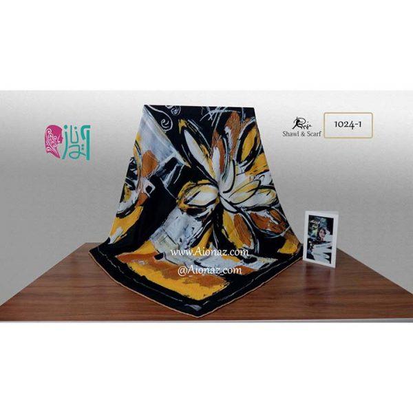 روسری نخی پاییزه روژه کد 1024-1