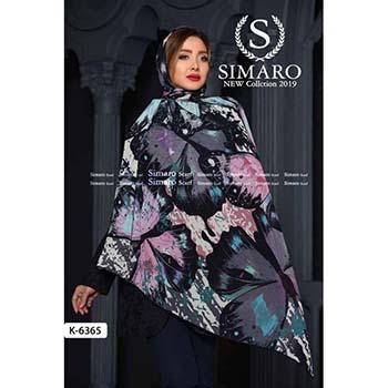 روسری حریر مجلسی سیمارو کد k-6365-1