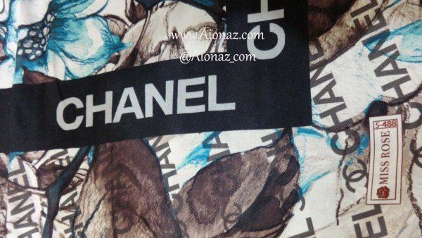 خرید روسری نخی پاییزه میس رز کد 5-488 نمای نزدیک