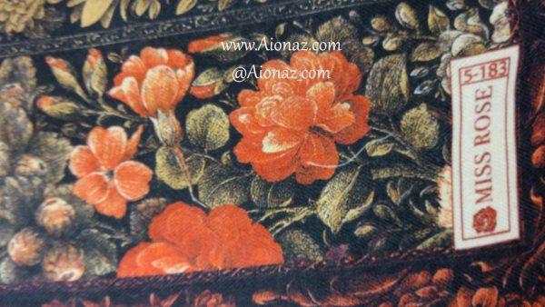 خرید روسری نخی پاییزه میس رز کد 5-183 نمای نزدیک