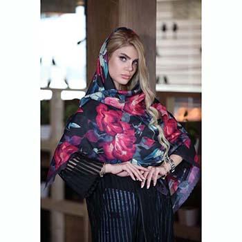 خرید روسری نخی پاییزه میس رز کد 5-184