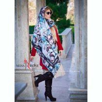 خرید روسری نخی پاییزه میس رز کد 5-488