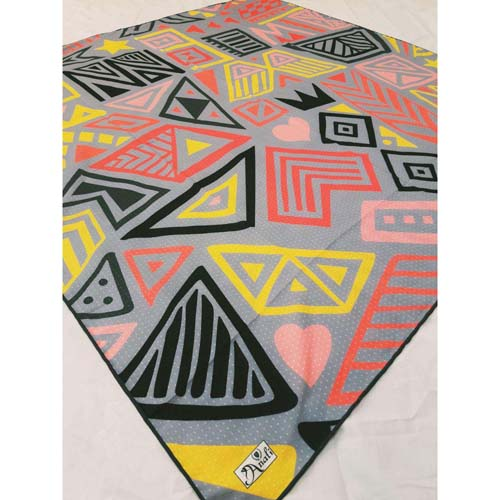خرید روسری ابریشم نخی آنالی طرح 8