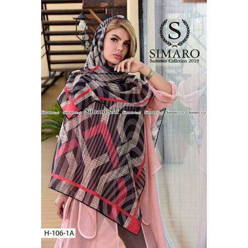 روسری سیمارو نخ کریستال H106-1A