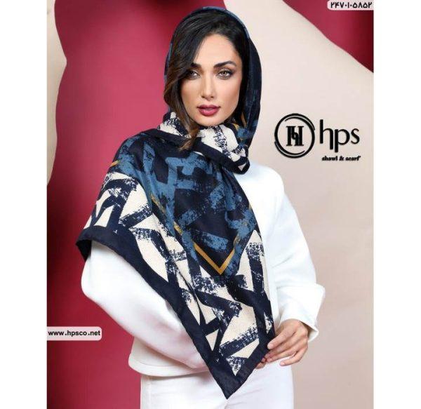 خرید عمده روسری کشمیر دست دوز5
