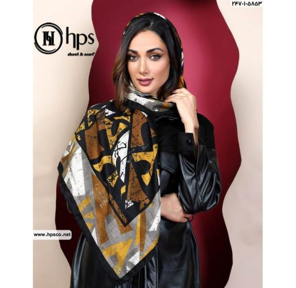 خرید عمده روسری کشمیرطرحدار1