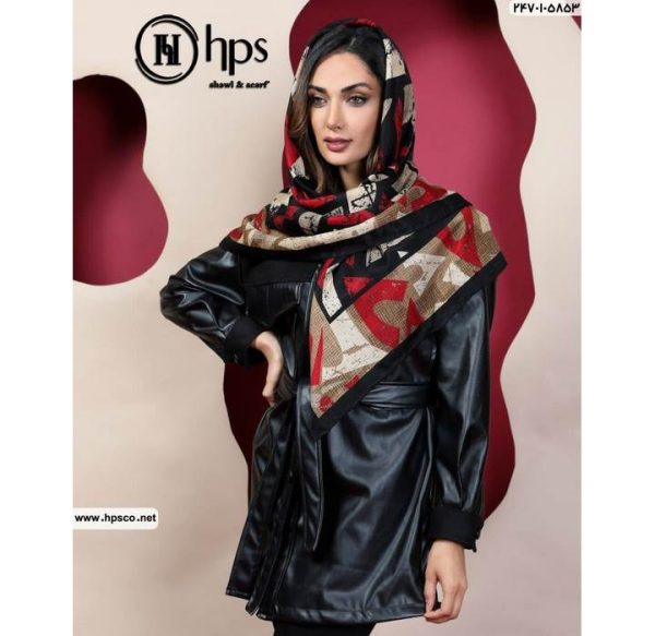 خرید عمده روسری کشمیرطرحدار2