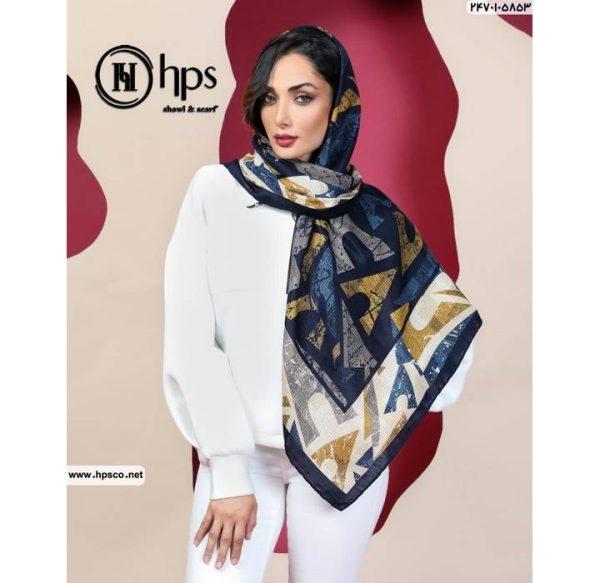خرید عمده روسری کشمیرطرحدار4