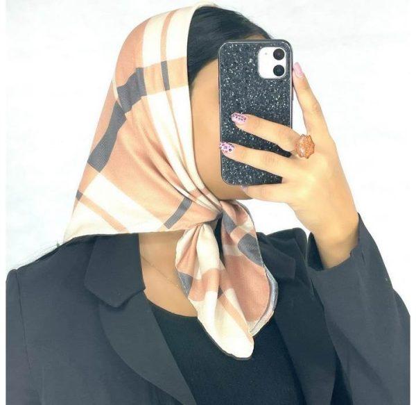 خرید عمده روسری نخی قواره کوچک