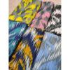 خرید عمده شال نخی رعدی نمای رنگبندی